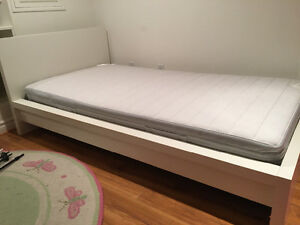 Bed and mattress 2 years old