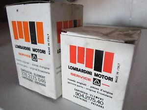 Lombardini Motori filters