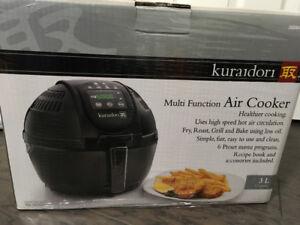 Kuraidori  - Digital Multifunction Air Cooker, 3L