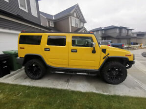 155k km on engine and tranny, WINTER KING Hummer H2