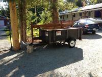 Snowbear tilt utility trailer