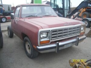 Parting out 1984 Dodge D150