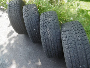 FOUR TOYO WINTER TIRES (G-02)  225/60/R16