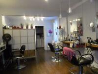 Salon coiffure à louer, clé en main