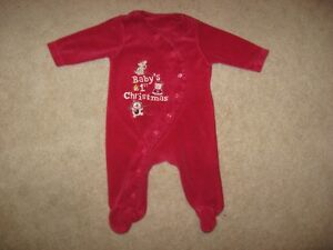 Baby Christmas Sleepers And Baby Long Sleeve Onesie