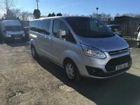 Ford Tourneo 300 Limited TDCI (silver) 2014