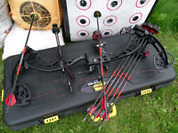 Compound Bow Service Tune Up Maintenance