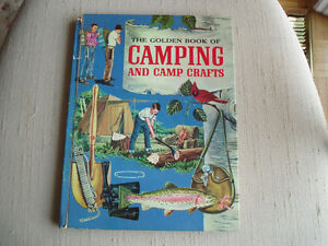 "BOY SCOUTS 1959 ""GOLDEN BOOK CAMPING - CAMP CRAFTS West Island Greater Montréal image 2"