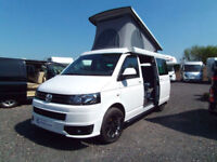 Volkswagen T5 four berth pop top campervan for sale