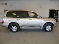 2000 LEXUS LX470 LUXURY SUV! RARE! 7 PASS! SPECIAL ONLY $8,900!