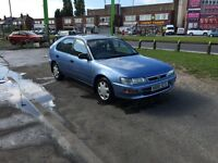 Toyota Carolla gs 1.4 automatic 5dr, long mot, 32,000 miles, cheap run about, auto