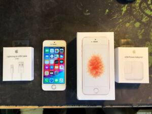 Apple iPhone 5SE 64GB A1723 Rose Gold (Unlocked & clean imei)
