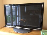 Urgent - 42 inch HD plasma tv with built in free view and satellite connection