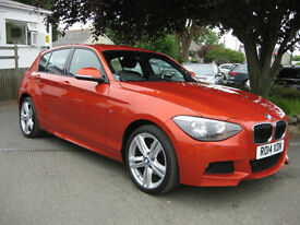 2014/14 BMW 120d 184bhp M Sport 5dr with HIGH SPEC~SUPERB CONDITION