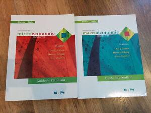 Livres pour cours d'économie