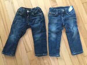Toddler girls true religion jeans
