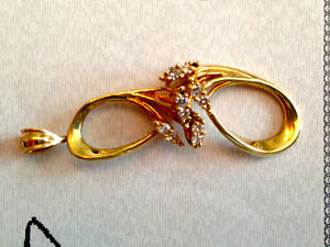 Birks 14K yellow gold brooch/pendant Cambridge Kitchener Area image 1