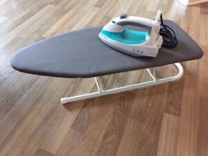 Black & Decker Light 'N Easy iron with Table Top Ironing Board