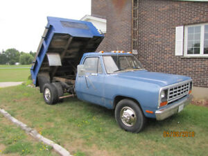 1982 Dodge Dump Truck for sale