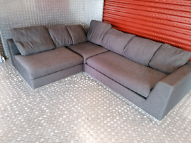 Dwell modular corner sofa delivery available