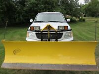 2002 Ford F150 Lariat Crewcab and Fisher Minute Mount Snowplow