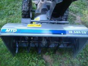 4-SNOW BLOWERS FOR SALE