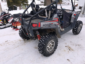 09 rzr s 800 with plow for trade