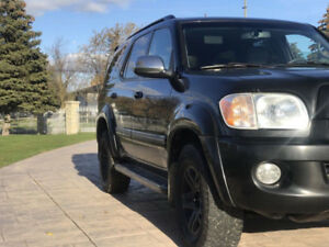 2007 Toyota Sequoia Limited SUV -- KING OF THE ROAD - CERTIFIED