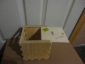 Home Depot kid's workshop wooden CD crate DIY kit