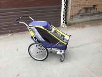 Chariot Cougar w/ stroller, running and bike trailer attachments