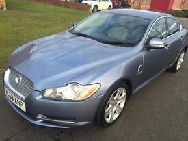2009 58 Jaguar XF 2.7 V6 TD Premium Luxury edition Blue Sat Nav - Now Sold