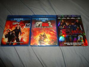 SPYKIDS TRILOGY BLURAY/DVD COMBOS BRAND NEW SEALED