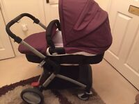 Mothercare Roam 3-in-1 pushchair