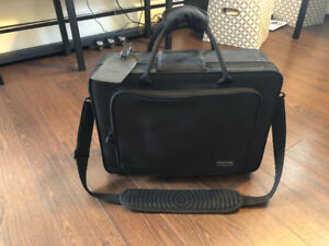 Clarinet double carry case B flat and A