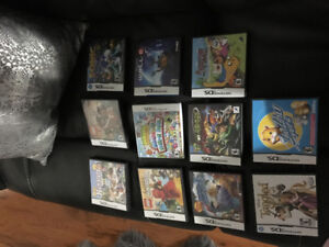 11 ninetendo DS games for sale!