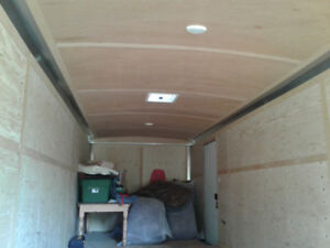 2017 , 24 foot cargo mate enclosed trailer