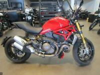 2014 DUCATI MONSTER 1200 S RED 6919 MILES