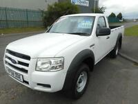 FORD RANGER 4X4 DIESEL MANUAL REGULAR CAB SNUG TOP 58 PLATE