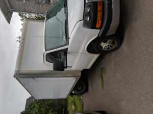 Cube Van for sale. Selling as a parts car