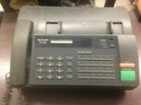 Great Condition Sharp UX-103 Thermal Fax/Phone for SALe