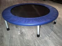 Trampoline d'exercice pour adulte