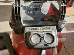 Porter cable compressor, brad nailer hose, and bostich brad nail