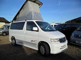 MAZDA BONGO LIFTING TOP, 2001, 2.1, AUTOMATIC, 89,600 MILES IN WHITE