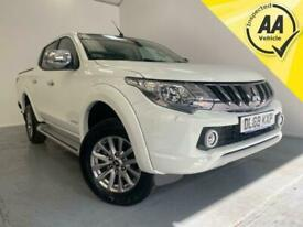 2019 Mitsubishi L200 Warrior Pick-Up Diesel 4wd 1 Owner Euro 6 Double Cab Pick-u