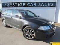2008 Skoda Octavia 2.0 TDI PD vRS 5dr Diesel black Manual