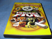 Secrets of The Furious Five DVD