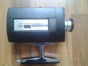 Bell and Howell super 8 camera