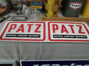 Patz Farm Sign