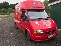 Ice cream van for sale ford transit Carpigiani LEZ compliant
