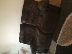 Moving sale: recliner couch, must go ASAP